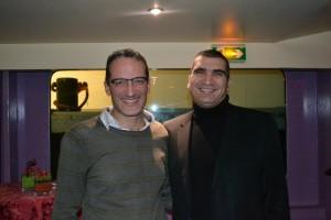 Dan Serfaty et Yacine Djaziri 300x200 Yacine Djaziri au dîner de la Nouvelle PME