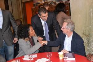 0000050380 DSC 03702 300x200 Yacine DJAZIRI au dîner inter réseaux du 19 janvier 2012 de la nouvelle PME