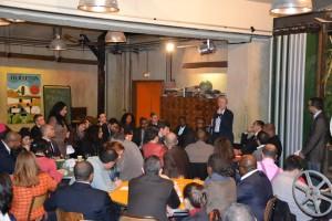 0000050380 DSC 0489 300x200 Yacine DJAZIRI au dîner inter réseaux du 19 janvier 2012 de la nouvelle PME
