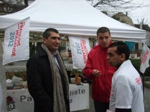Mobilisation samedi 17 mars place Gabriel Peri 2012 03 17 012 300x224 WE de mobilisation à Nanterre