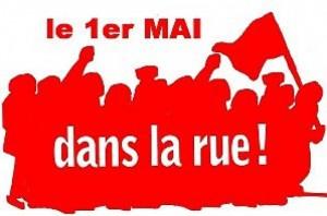 1er mai rue 300x198 Le 1er mai 2012, marchons pour le progrès social