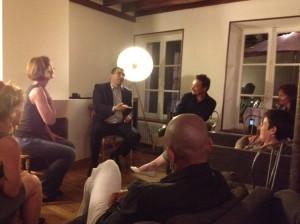 reunion appartement 300x224 Rencontre de campagne conviviale entre voisins dans le centre ville de Nanterre